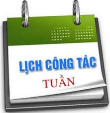 anh lich cong tac tuan